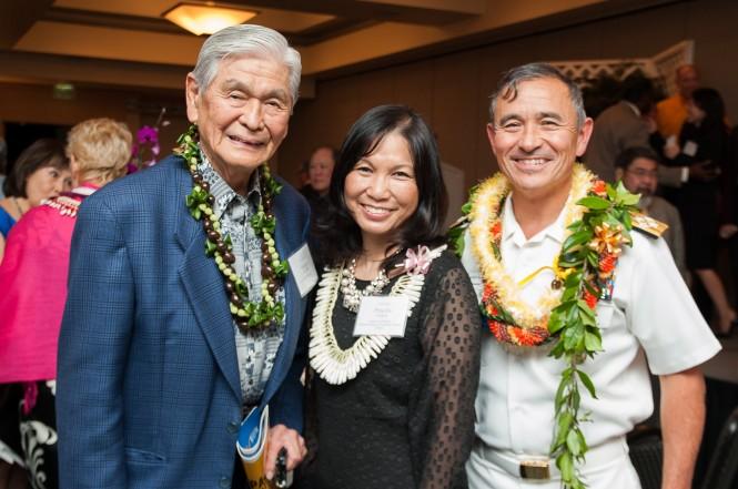 Japanese American Organizations Honor Adm. Harris B. Harris Jr. in Hawaii