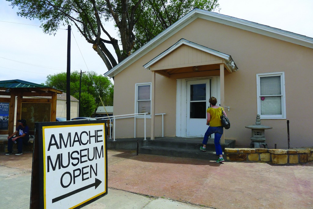The Amache Museum is maintained by the students of the Amache Preservation Society at Granada High School and is opened during an annual pilgrimage. Amache is located just outside the town of Granada, Colo. Photo by Gil Asakawa