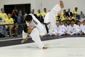 This year's martial arts competition was held at the Pyramid in Long Beach, Calif. Photo by Nancy Teramura Hayata