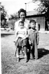 Misako Shigekawa had two children while incarcerated at Poston including daughter, Marlene, and son, Gerald. Marlene is the executive producer of a new documentary about mothers and their children. Photo courtesy if Marlene Shigekawa