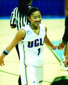 Natalie played basketball for the Bruins while she attended the University of California, Los Angeles. Photo courtesy of Natalie Nakase