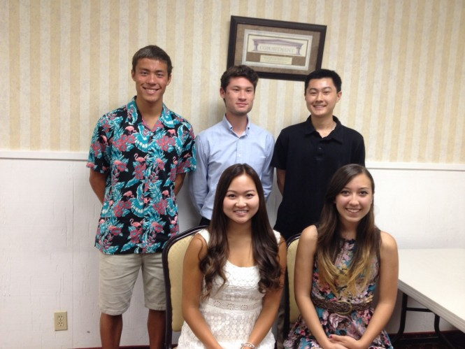 Ventura County JACL Awards 2014 Scholarships