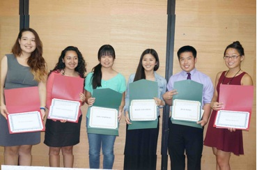 Sequoia JACL Honors Students