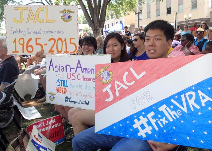 JACL Engages in Roanoke Voting Rights Rally on Shelby Anniversary