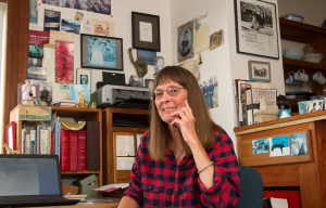 Ruthanne Lum McCunn spent more than 10 years conducting research on her latest book on API Civil War veteran Thomas Slyvanus. Photo courtesy of Ruthanne Lum McCunn