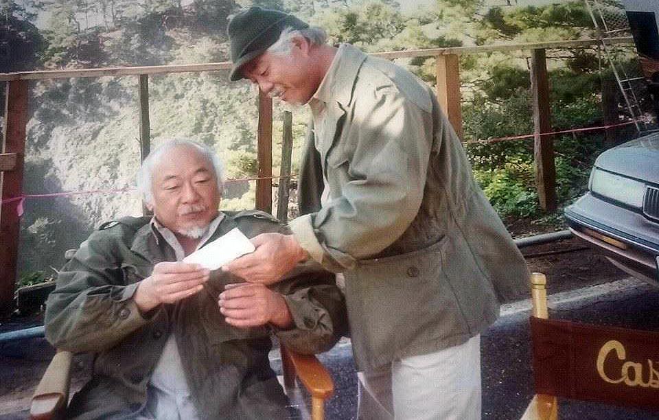 Remembering Mr. Miyagi