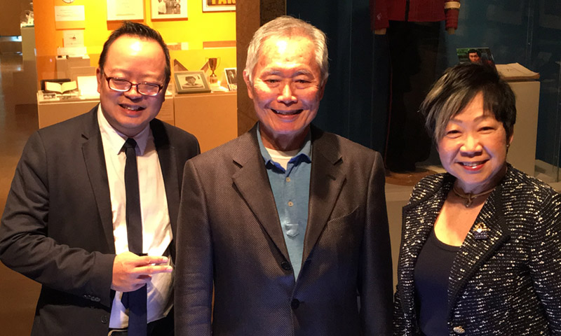 George Takei Still Boldly Trekking to New Frontiers