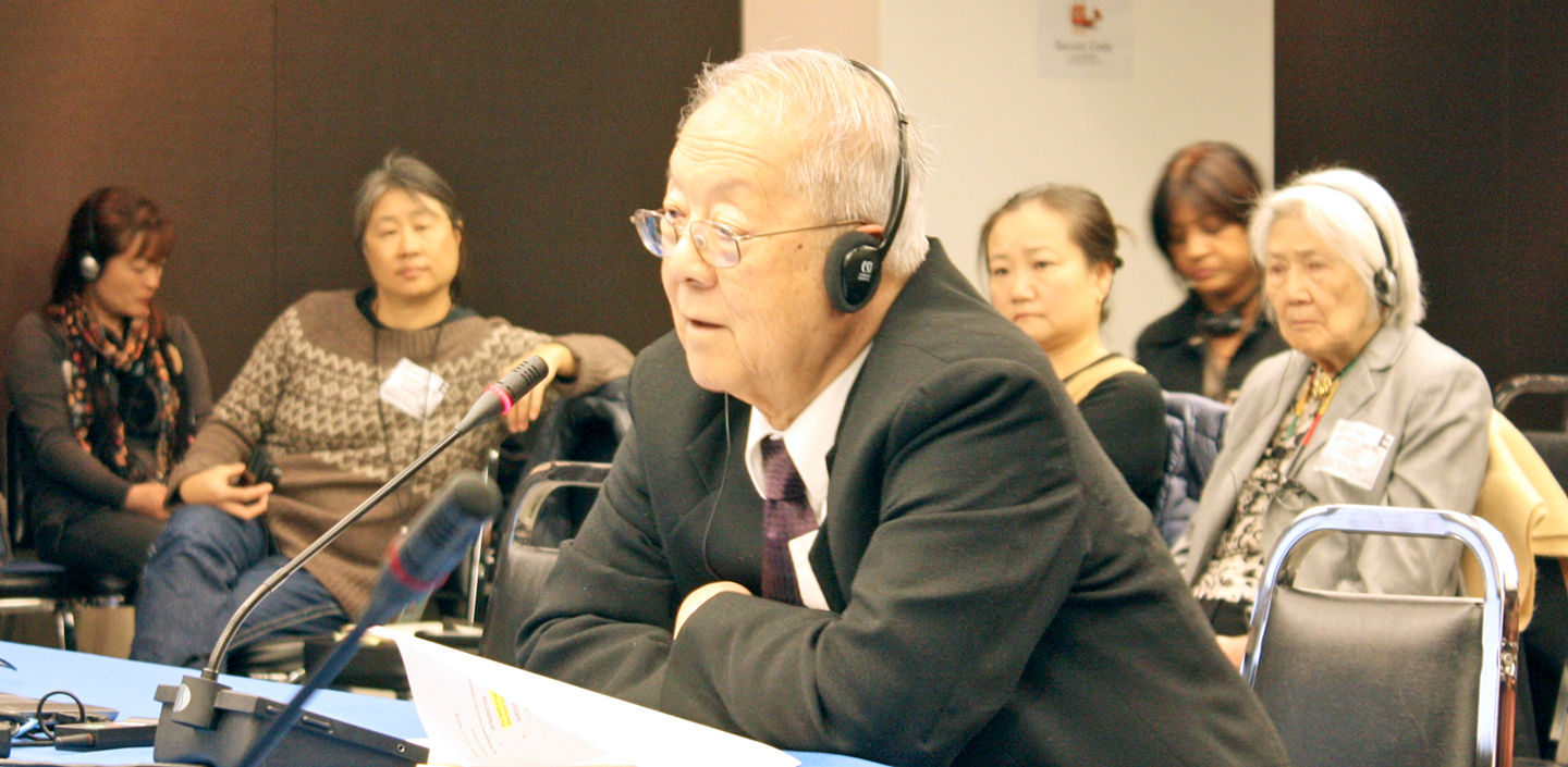 Japanese Latin American Delegation Receives Favorable Hearing