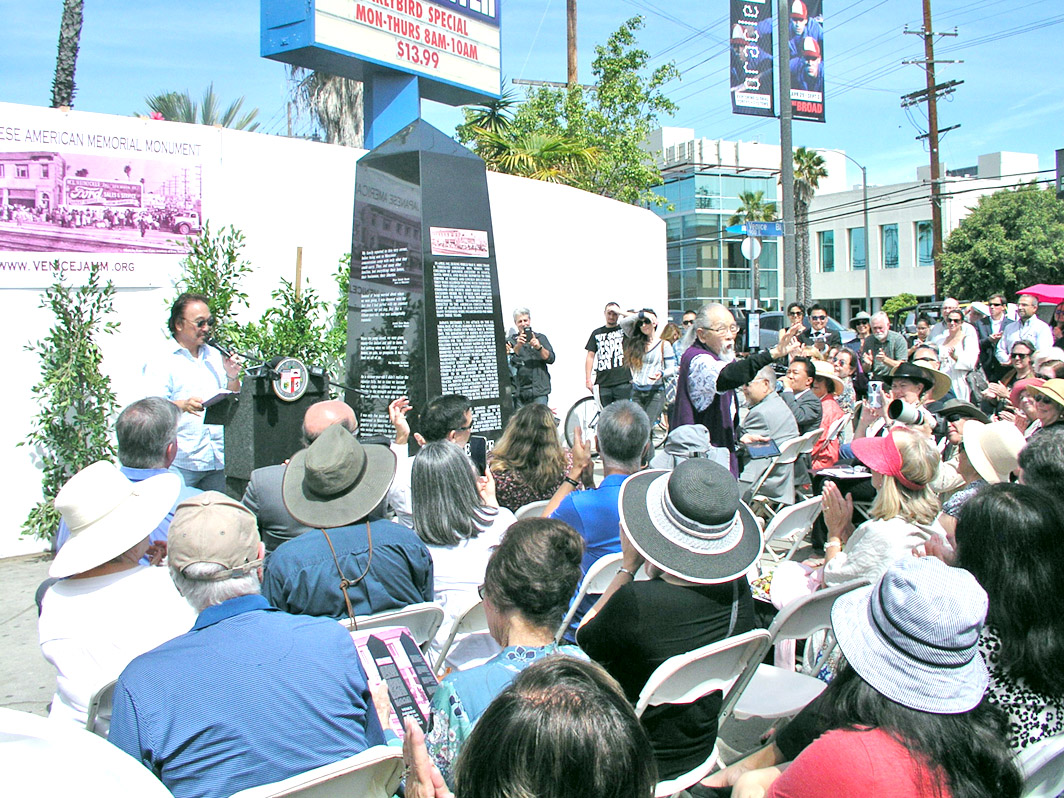 Monument to 1942 Japanese American Removal Dedicated