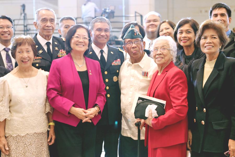 Filipino World War II Veterans Presented Congressional Gold Medal